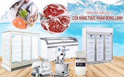 Những thiết bị cần có để mở cửa hàng thực phẩm đông lạnh