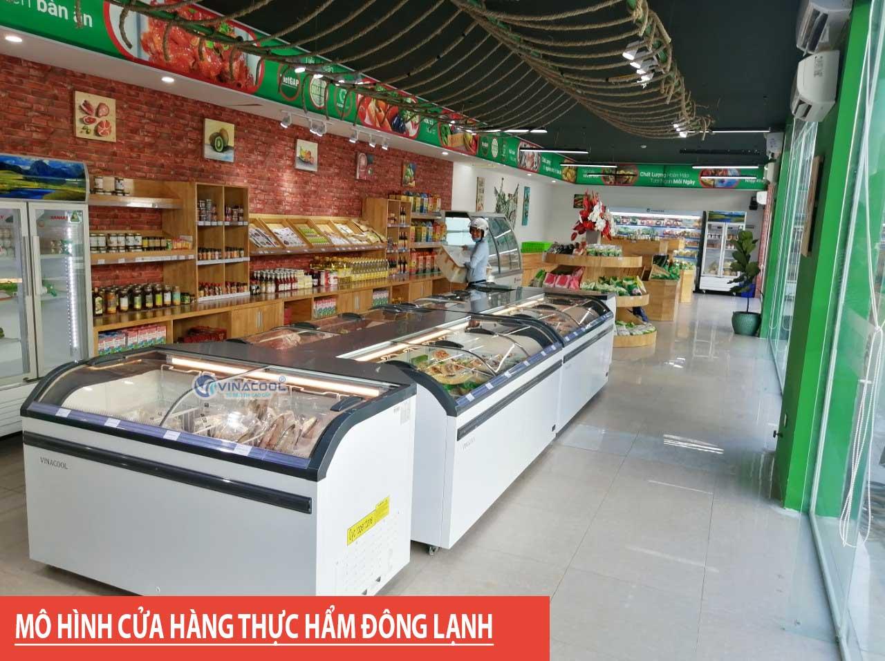 cửa hàng thực phẩm đông lạnh