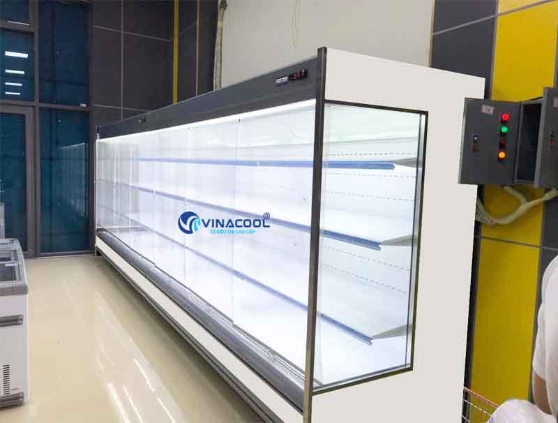 Tủ mát không cánh kính vuông Vinacool