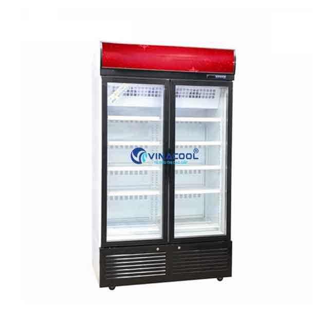 Tủ đông lạnh 2 cánh kính Vinacool