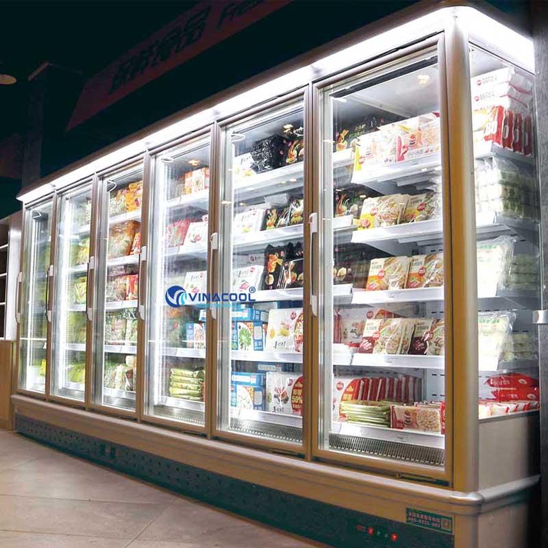 Tủ đông trưng bày không giới hạn số cửa Vinacool