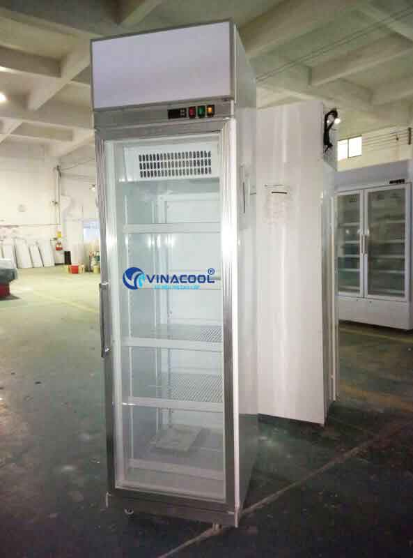 Tủ đông đứng 1 cánh kính Vinacool