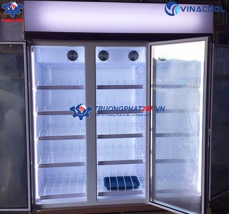 Tủ mát 3 cánh kính có sấy Vinacool