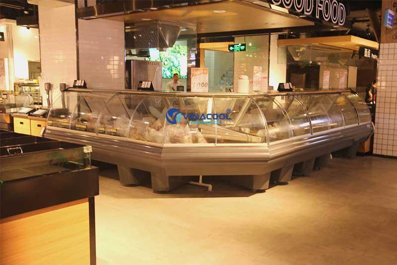 Tủ trưng bày thức ăn chín nóng Vinacool