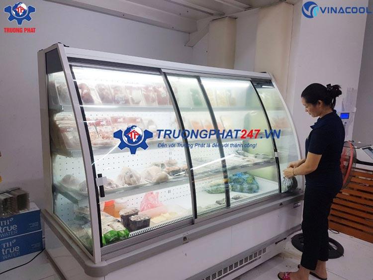 Tủ mát trưng bày thịt kính cong LGA-1.9